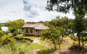Pinnon Safari Lodge chalets are all designed to give fantastic views all around
